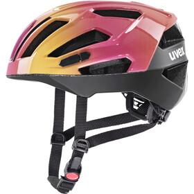 UVEX Gravel-X Casco, rosa/arancione